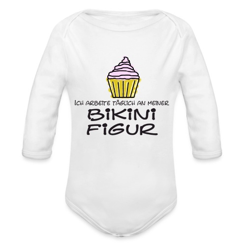 Bikinifigur03 - Baby Bio-Langarm-Body