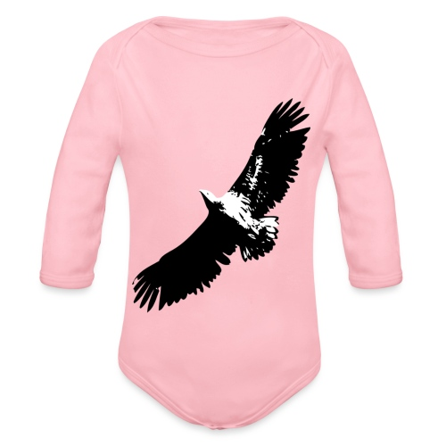 Fly like an eagle - Baby Bio-Langarm-Body
