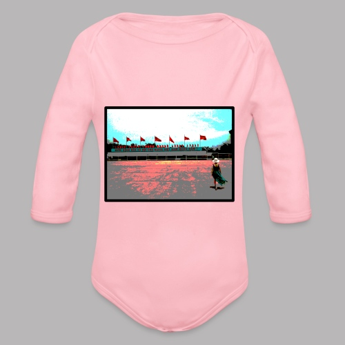 Ho Chi Minh - Organic Longsleeve Baby Bodysuit