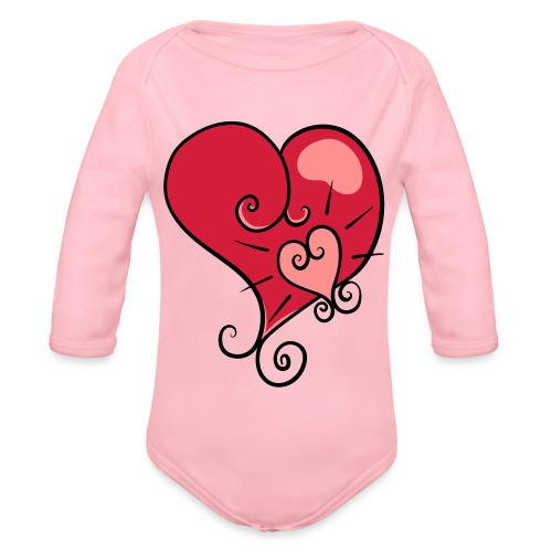 The world's most important. - Organic Longsleeve Baby Bodysuit