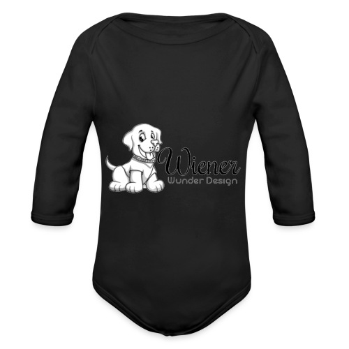 Wiener Wunder Hund - Baby Bio-Langarm-Body