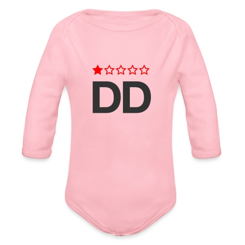 Dårligdommerne simpelt logo - Langærmet babybody, økologisk bomuld