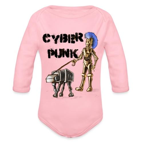cyberpunk - Body ecologico per neonato a manica lunga