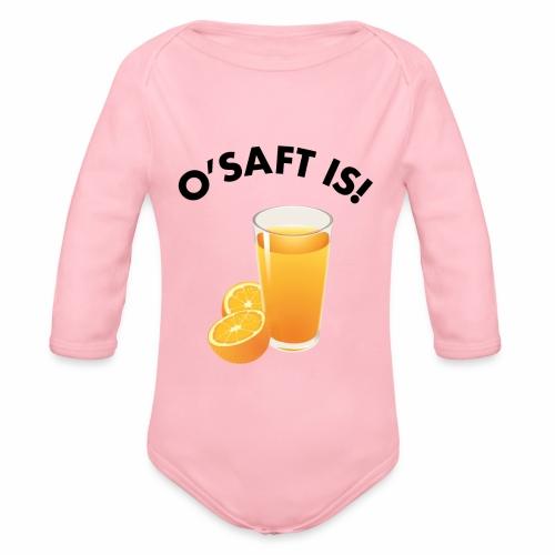 O'Saft is! - Baby Bio-Langarm-Body