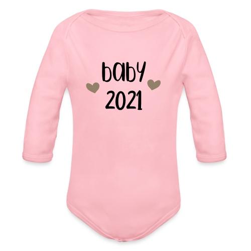 baby 2021 - Baby Bio-Langarm-Body