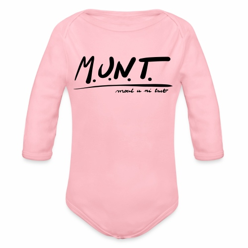 Munt - Baby bio-rompertje met lange mouwen