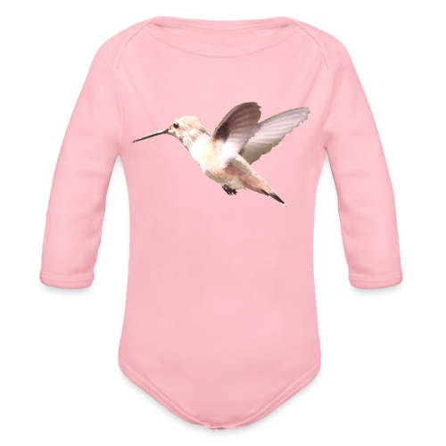 Hummingbird by Lajarin Dream - Body orgánico de manga larga para bebé