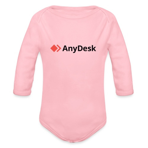 AnyDesk - logo black - Baby Bio-Langarm-Body
