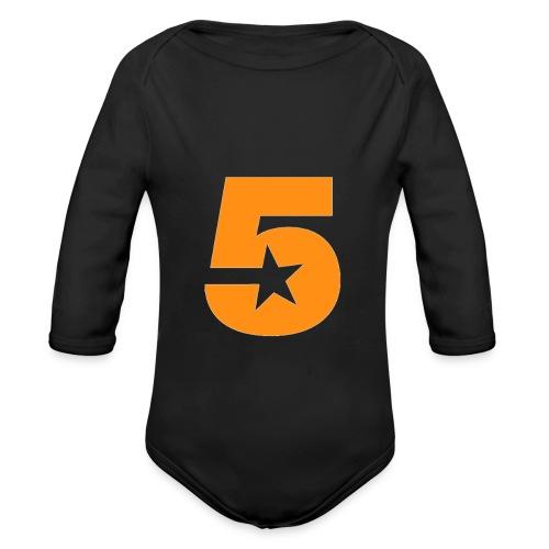 No5 - Organic Longsleeve Baby Bodysuit