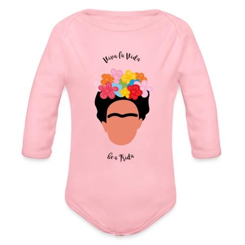 Be a Frida - Baby Bio-Langarm-Body
