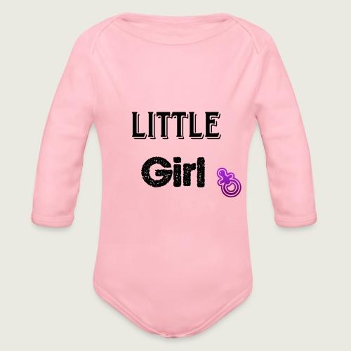 Little girl - Body Bébé bio manches longues