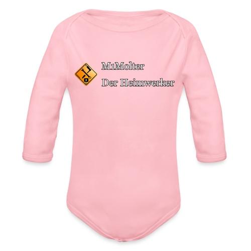 M1Molter - Der Heimwerker - Baby Bio-Langarm-Body