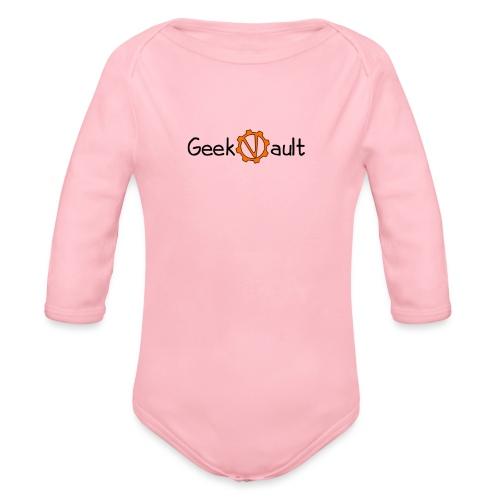 Geek Vault Tee - Organic Longsleeve Baby Bodysuit