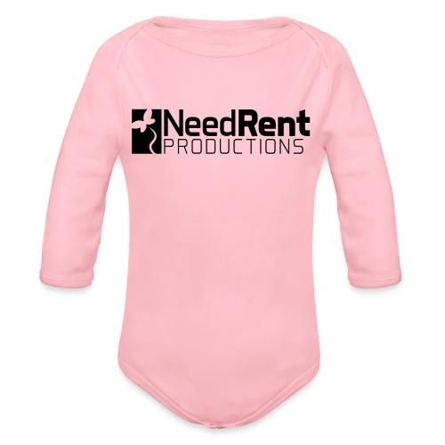 NeedRent Produktions - Langærmet babybody, økologisk bomuld
