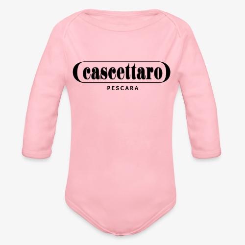 Cascettaro - Body ecologico per neonato a manica lunga