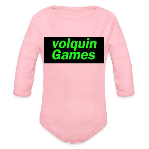 volquin - Baby bio-rompertje met lange mouwen