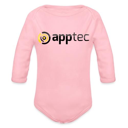 52904_Logo_apptec_G_300dpi - Organic Longsleeve Baby Bodysuit