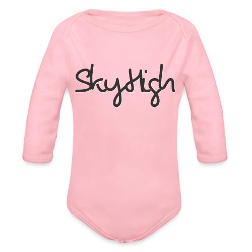 SkyHigh - Women's Premium T-Shirt - Black Lettering - Organic Longsleeve Baby Bodysuit