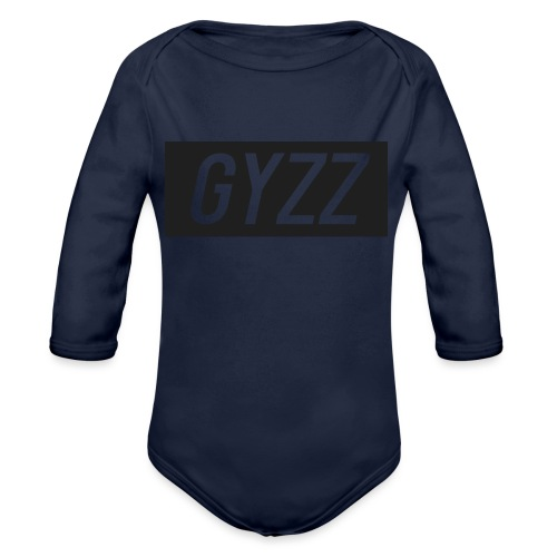 Gyzz - Langærmet babybody, økologisk bomuld
