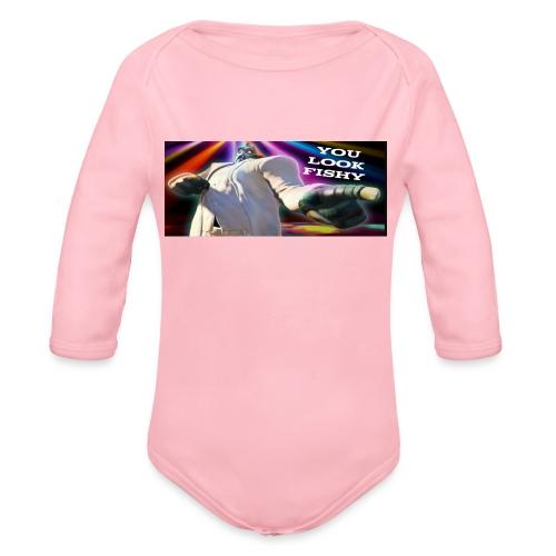 Tony Binks Range - Organic Longsleeve Baby Bodysuit