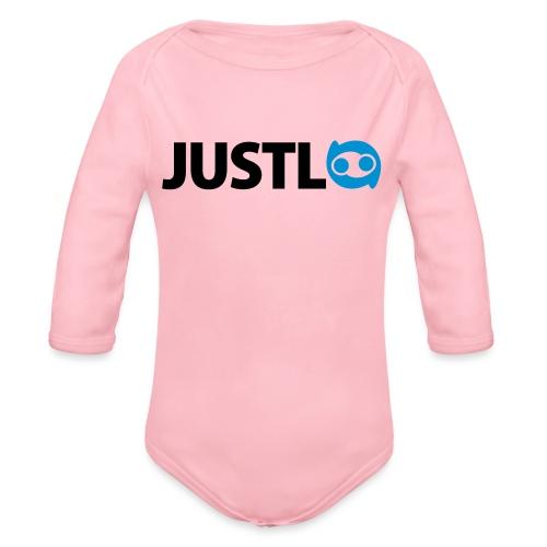 Justlo Logo - Baby Bio-Langarm-Body