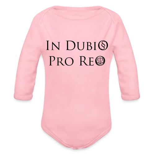 In Dubio pro Reo - Baby Bio-Langarm-Body
