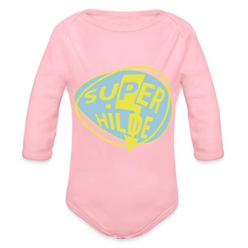 superhilde - Baby Bio-Langarm-Body