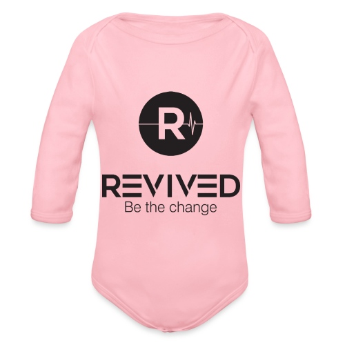 Revived be the change - Organic Longsleeve Baby Bodysuit