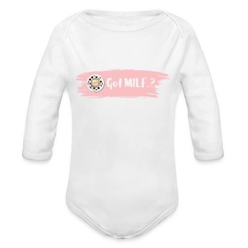Got MILF Milfcafe Shirt Mama Muttertag - Baby Bio-Langarm-Body