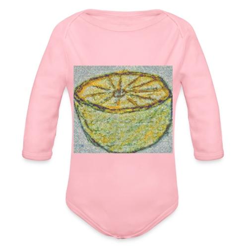 Lemonade - Body Bébé bio manches longues