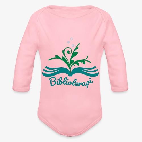 Biblioterapi - börja så! - Ekologisk långärmad babybody