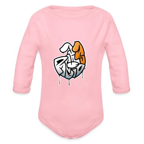 PRL DOG - Ekologiczne body niemowlęce z długim rękawem