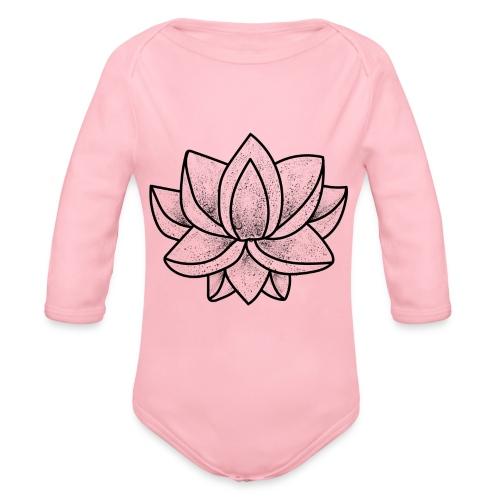 Lotus - Body Bébé bio manches longues