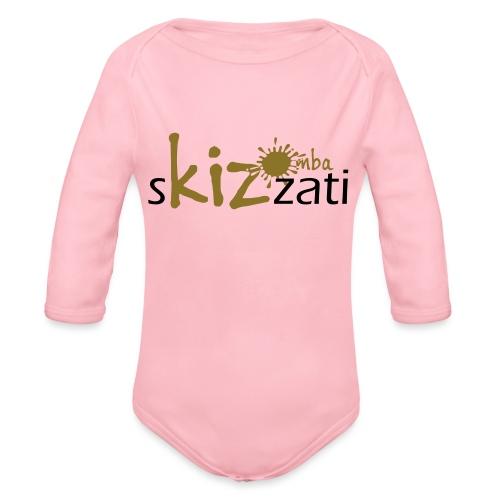 Beanie in jersey con logo sKizzati Kizomba - Verde - Body ecologico per neonato a manica lunga