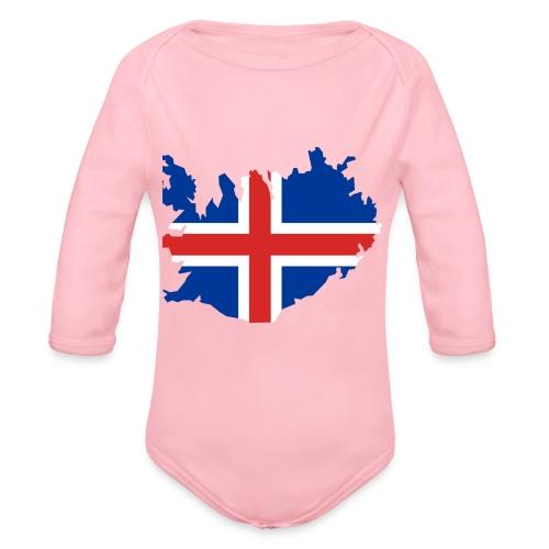 Iceland - Baby bio-rompertje met lange mouwen