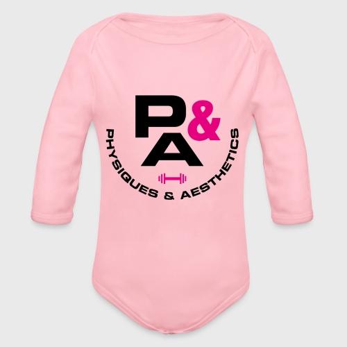 P&A - Body orgánico de manga larga para bebé