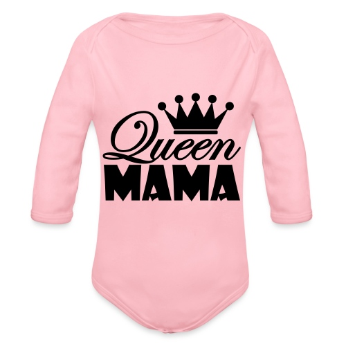 queenmama - Baby Bio-Langarm-Body