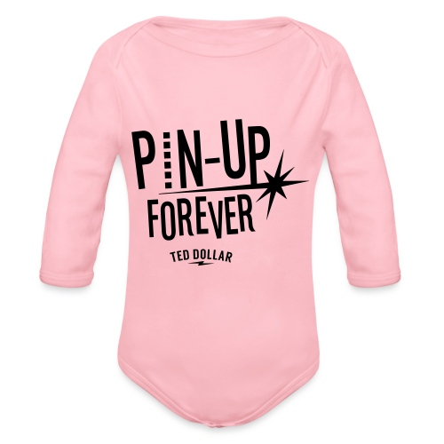 Pin-Up forever - Body Bébé bio manches longues