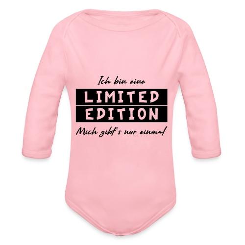 ich bin eine limit edition - Baby Bio-Langarm-Body