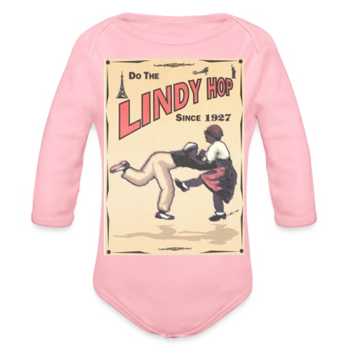 Do the Lindy Hop Since 1927 - Ekologisk långärmad babybody