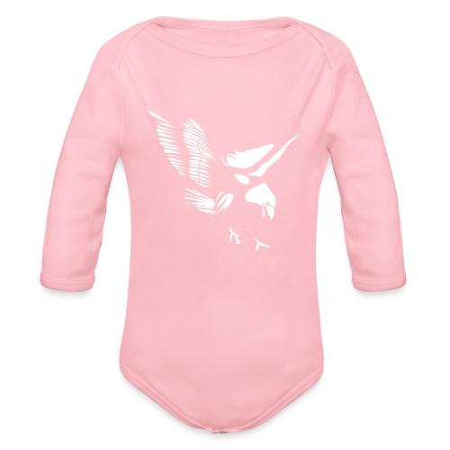 Aquila - Body ecologico per neonato a manica lunga