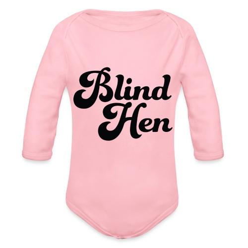 Blind Hen - Logo T-shirt premium, green. - Organic Longsleeve Baby Bodysuit
