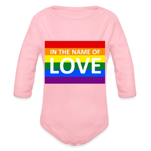 IN THE NAME OF LOVE RETRO T-SHIRT - Langærmet babybody, økologisk bomuld