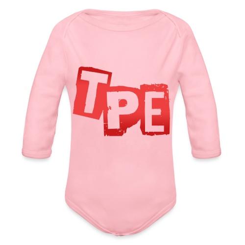 TPE Mugg - Ekologisk långärmad babybody