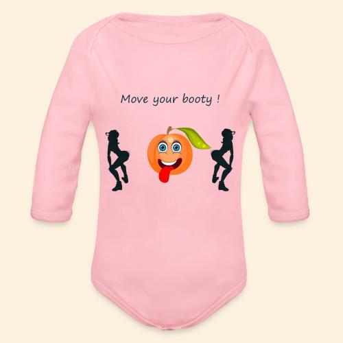 Move your booty ! - Body Bébé bio manches longues
