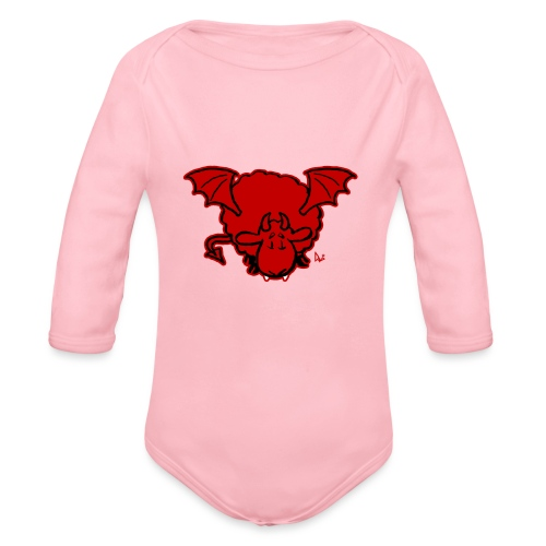 Devil Sheep - Baby Bio-Langarm-Body