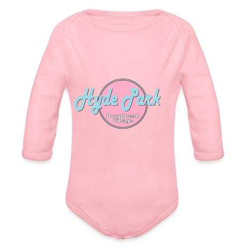 HydePark BabyPink - Baby Bio-Langarm-Body