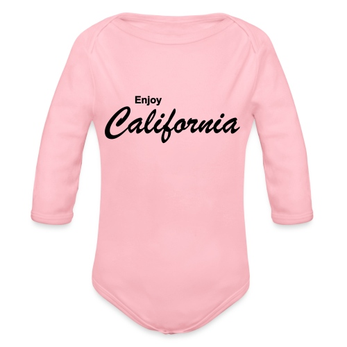 Enjoy California - Baby Bio-Langarm-Body