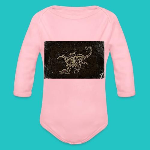 skorpion_grafika-jpg - Ekologiczne body niemowlęce z długim rękawem