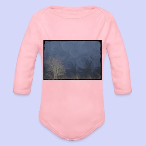 Spring mornings - Female shirt - Langærmet babybody, økologisk bomuld